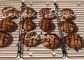voir faire les cookies banane choco