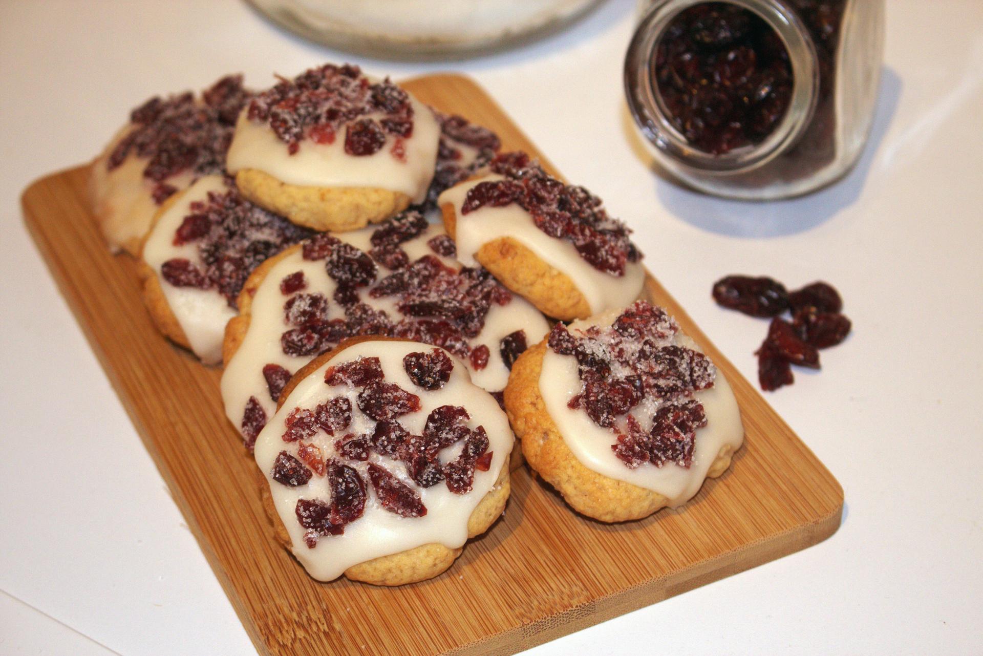 Cookies au Cranberry