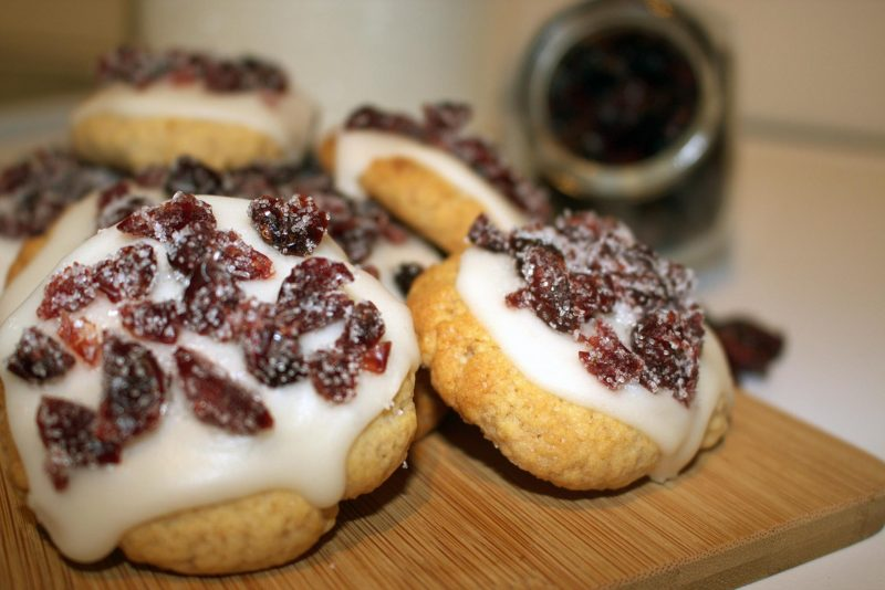 cranberry cookie américain