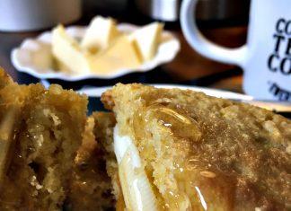 pain au maïs petit déjeuner