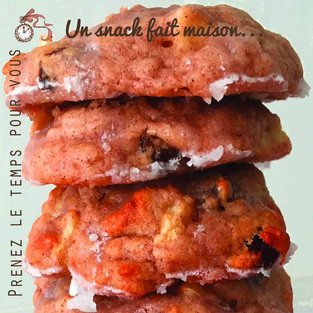 Recette Cookie Facile Pomme Raisins Secs A Faire Maison